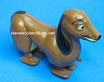 Click here to enlarge image and see more about item MTY1125A3-2007: 1950s MARX DACHSHUND RAMP WALKER + Brochure