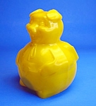 Click here to enlarge image and see more about item TY1203B7-2006: Cool 1950s Hard Plastic PIGGY Advertising BANK