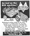 Click here to enlarge image and see more about item TY1227A8: 1953 DOEPKE CONSTRUCTION TOY Ad