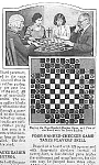 Click here to enlarge image and see more about item TY315A1: 1929~4-Handed CHECKER BOARD Mag Article