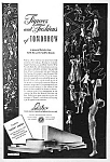 Click here to enlarge image and see more about item WF0722A2: 1939 NY WORLDS FAIR Ad - Lastex - Nude