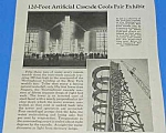 Click here to enlarge image and see more about item WF1002AA2: 1939 NY WORLDS FAIR CASCADE TOWER Mag Article