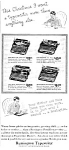 1933 REMINGTON TYPEWRITER Magazine Ad