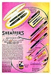 Click here to enlarge image and see more about item WR0218A1-2006: 1939 SHEAFFER Pens and Pencils Ad