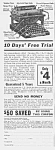 Click here to enlarge image and see more about item WR0526CC1: 1927 L.C.Smith TYPEWRITER Mag. Ad