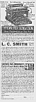Click here to enlarge image and see more about item WR0529CC1: Neat 1922 L C Smith Model No. 5 TYPEWRITER Ad