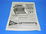 Click here to enlarge image and see more about item WR814AA2: 1926 L.C. SMITH TYPEWRITER Ad