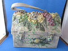 Vintage Metal Lunch Box Purse