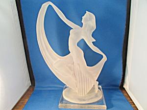 W. Anina Resin Art Nouveau Statue (Image1)