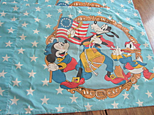 Bi Centennial Mickey Mouse Pillow Cases