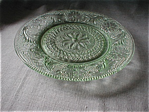 Chantilly Green Tiara Sandwich Plate