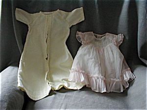 Vintage Dress, 2 Slips, And Nightie