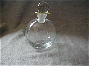 Hand Blown Perfume Bottle