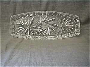 Cut Glass Relish Tray (Image1)