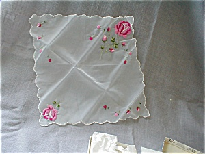 Embroidered Handkerchief (Image1)