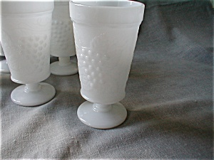 Hazel Atlas Grape And Leaf Tumblers