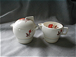 American Limoges Creamer And Sugar