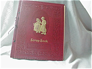 Leather Embossed Scrap Book or Photo Album (Image1)