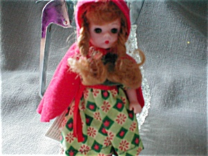 Red Riding Hood Doll From Madame Alexander