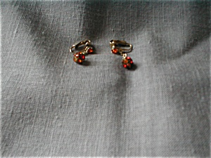 Gold Stone Earrings (Image1)