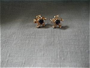 Faux Amethyst Earring (Image1)