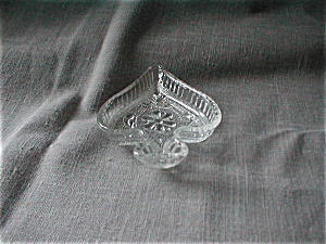 Tiara Clear Glass Spade Shaped Trays (Image1)