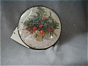 Dry Flower Plaque