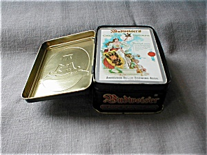 Anheuser-busch Tin And Playing Cards