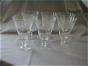 Holly Depression Water Glasses