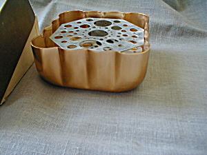 Aarco Copper Flower Tray (Image1)