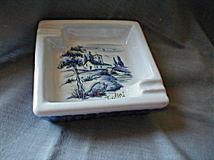 Hand Painted Ash Tray From Italy (Image1)