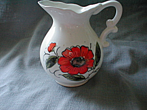 Hand Painted Miniature Milk Pitcher (Image1)