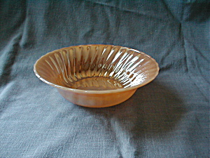 Fire King, Peach Lustre Bowl (Image1)