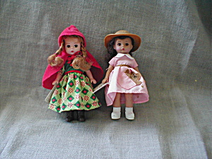 Alexander Red Riding Hood And Teddy Bear Doll
