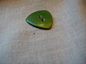 Green Bakelite Button