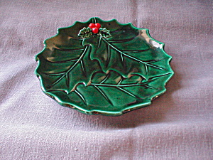 Lefton Holly Plate