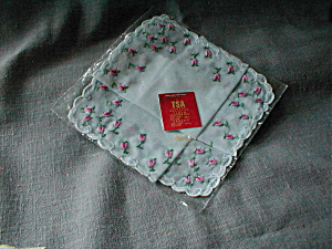 Flowered Handkerchief
