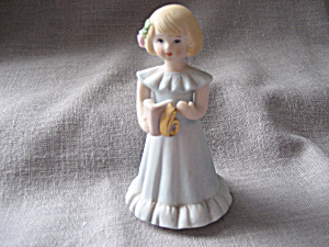 1981 Enesco Growing Up Birthday Girl (Image1)