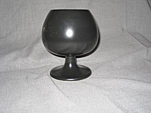 Black Brandy Sniffer Style Porcelain Planter (Image1)