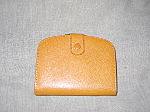 Pigskin Wallet From England (Image1)