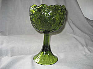 Indiana Glass Tall Compote