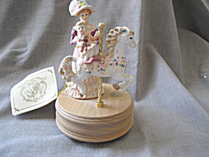 Heirloom Carousel Music Box