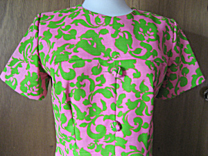 Pink Paisley Dress (Image1)