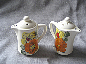 Sixties Salt And Pepper Shakers