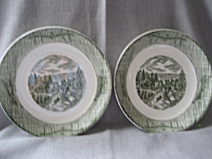 Currier and Ives Bowls (Image1)