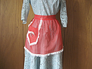 Red Christmas Apron