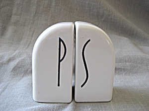 Ironstone Salt And Pepper