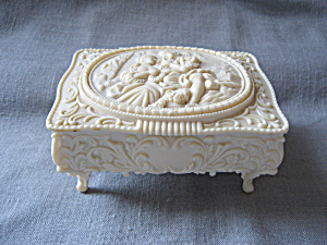 Celluloid Jewelry Box