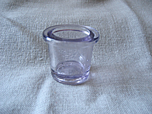 Purple Glass Eye Wash Cup