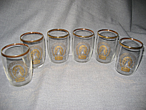 Set Of 6 Coors Glasses